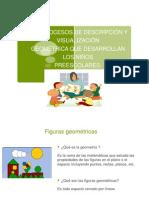 Los Procesos de Descripción y Visualización Geométrica Que Desarrollan Los Niños Preescolares.