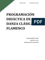 Programación Danza