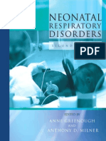 Neonatal Resp Disorders