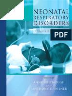 Neonatal Resp Disorders