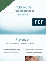 Tratamiento de Rubeola y Sarampion