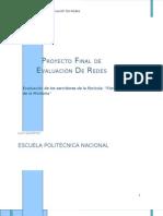 Proyecto Final de Evaluación de Redes