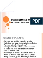 3. Decision Making and the Planning Process