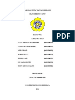 Laporan Tetap Satuan Operasi i Ftu