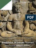 Anandajoti Bhikkhu- Buddhist Wisdom Verses
