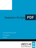 Developments in Port Engineering