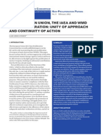 IAEA and the EU Paper