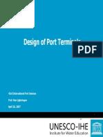 Design of Port Terminals