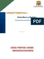 Datos Macro y Medidas