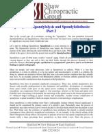 WEB -103 - Spondylosis, Spondylolysis and Spondylolisthesis Part 2.pdf