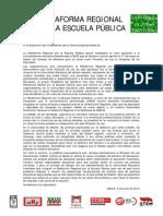 13-06-03 Carta Al Presidente de La Comunidad de Madrid