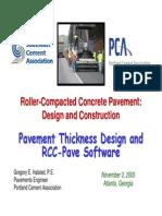 Sca-pca Rcc Design Seminar
