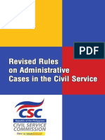 Revised Rules on Admin Cases in the CSC