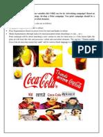 Thanda Matlab Coca Cola