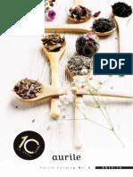 Aurile Kaffee und Tee Katalog