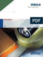 Catálogo MAHLE Filtros 2012-2013 (Argentina)