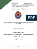 Bases Integradas Licitacion PubBASES INTEGRADAS PARA LICITACION PUBLICA 2014