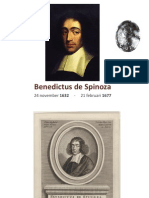 Spinoza (1632-1677) dia's over zijn leven
