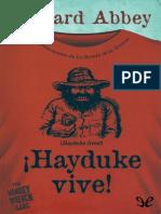 !Hayduke Vive! - Edward Abbey - 12692 - Spa