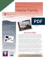 Fritsche Family Newsletter - December 2014