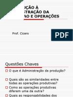 INTRODUÇÃO GERENCIAMENTO DE CUSTOS