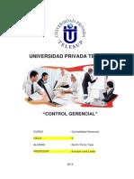 Control Gerencial