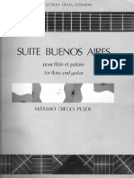 M. D. Pujol  - Suite Buenos Aires for Flute and Guitar