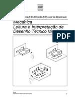 SENAI - Mecanica - Leitura e Interpretação de Desenho