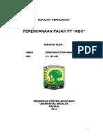 MAKALAH PERENCANAAN PAJAK.doc