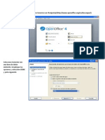 BD Uso de Open Office Calc Para Conectar Con PostgreSql