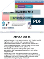 Tutorial APPLIKASI Keuangn BOS