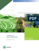 CSI Guidelines on Quarry Rehabilitation (English)_Dec 2011