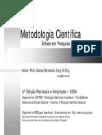 Metodologia Cientifica 4 Edicao P B