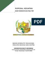 PROPOSAL Seminar Kepariwisataan.doc