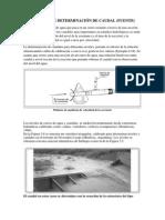 Metodos de Terminacion de Caudal_ Hidrologia