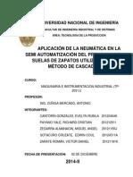Aplicación de La Neumática en La Semi Automatización Del Prensado de Suelas Utilizando El Método de Cascada