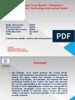 Strategic Focus Report - Enterprise IT Security