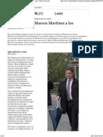 20141130 El Descenso de Marcos Martínez a Los Infiernos - León - Diario de León