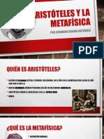 Aristóteles y La Metafísica
