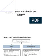 Urinary Tract Infection in the Elderly