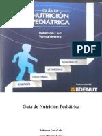 Guia Nutricion Pediatrico
