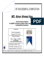 SA8000 Introduction & Basic Auditor Training