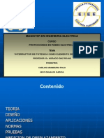 Interruptor de Potencia - Presentacion