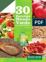 30 Receitas Mundo Verde