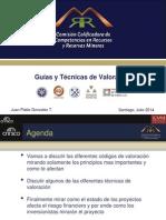 4 - Guias y Tecnicas de Valoracion - JP Gonzalez - Com Minera
