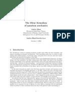 Formalismo de Dirac
