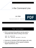 Excel on the Command Line