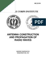 Antenna Construction and Propagation of Radio Waves