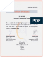 ISO9001 SGS Certificate