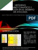 Resumen_ Cambio Climático y La Elevación en El Desierto de Atacama_Rech